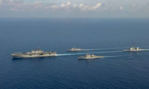 China Slams US-Australian Navy Drills in the South China Sea