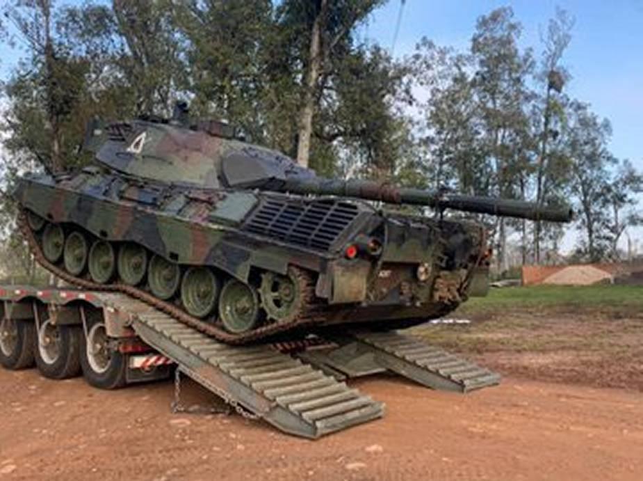 Brazil to Modernize Leopard 1A5BR MBTs