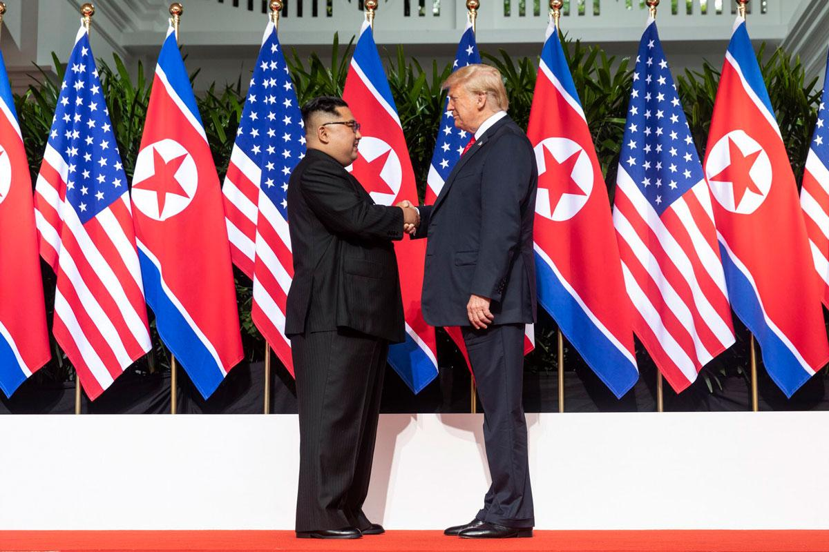 North Korea Outlining the Strategy for Dialogue and Confrontation with the US