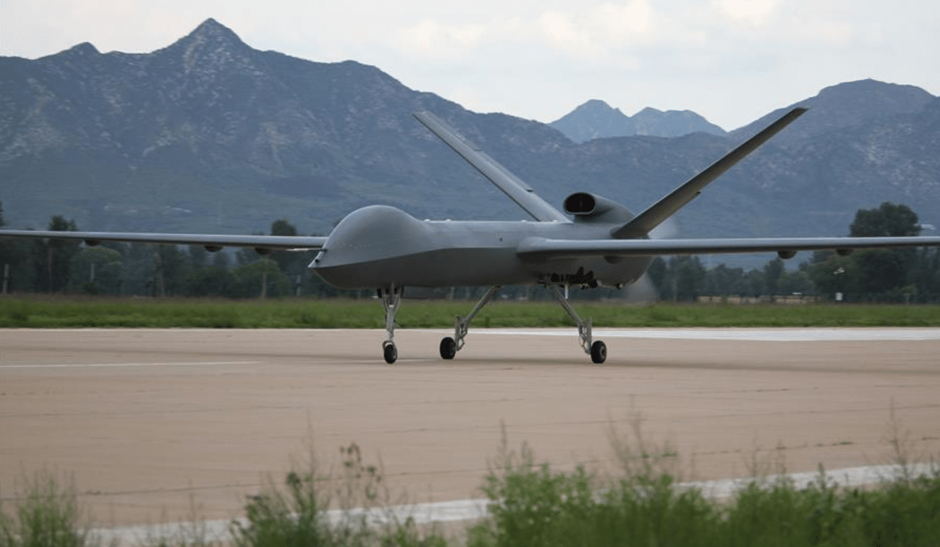 China – CH 5 Unmanned Aerial Vehicles ( UAV ) MALE