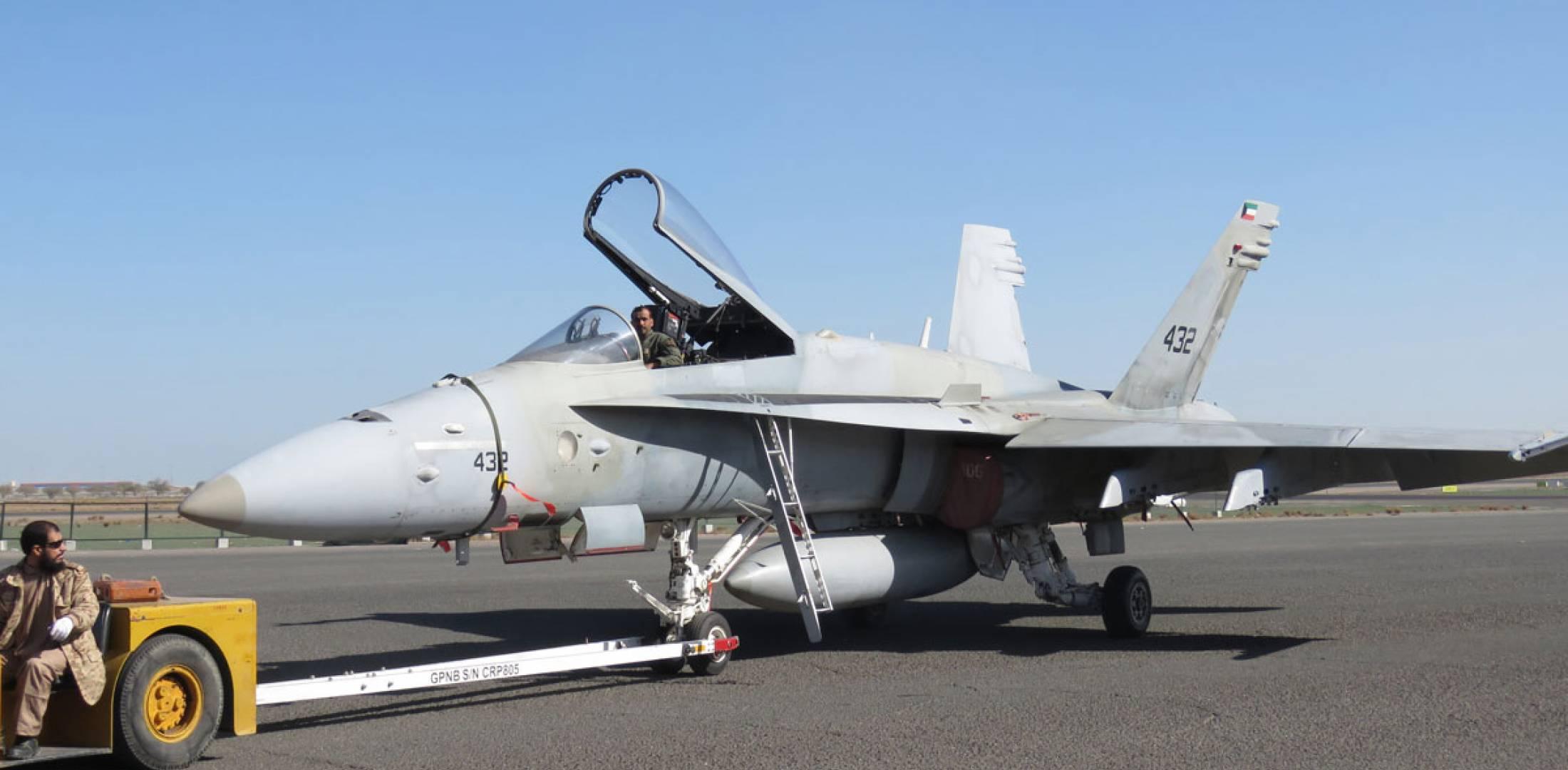 COVID-19 Affecting Kuwait's Super Hornet order