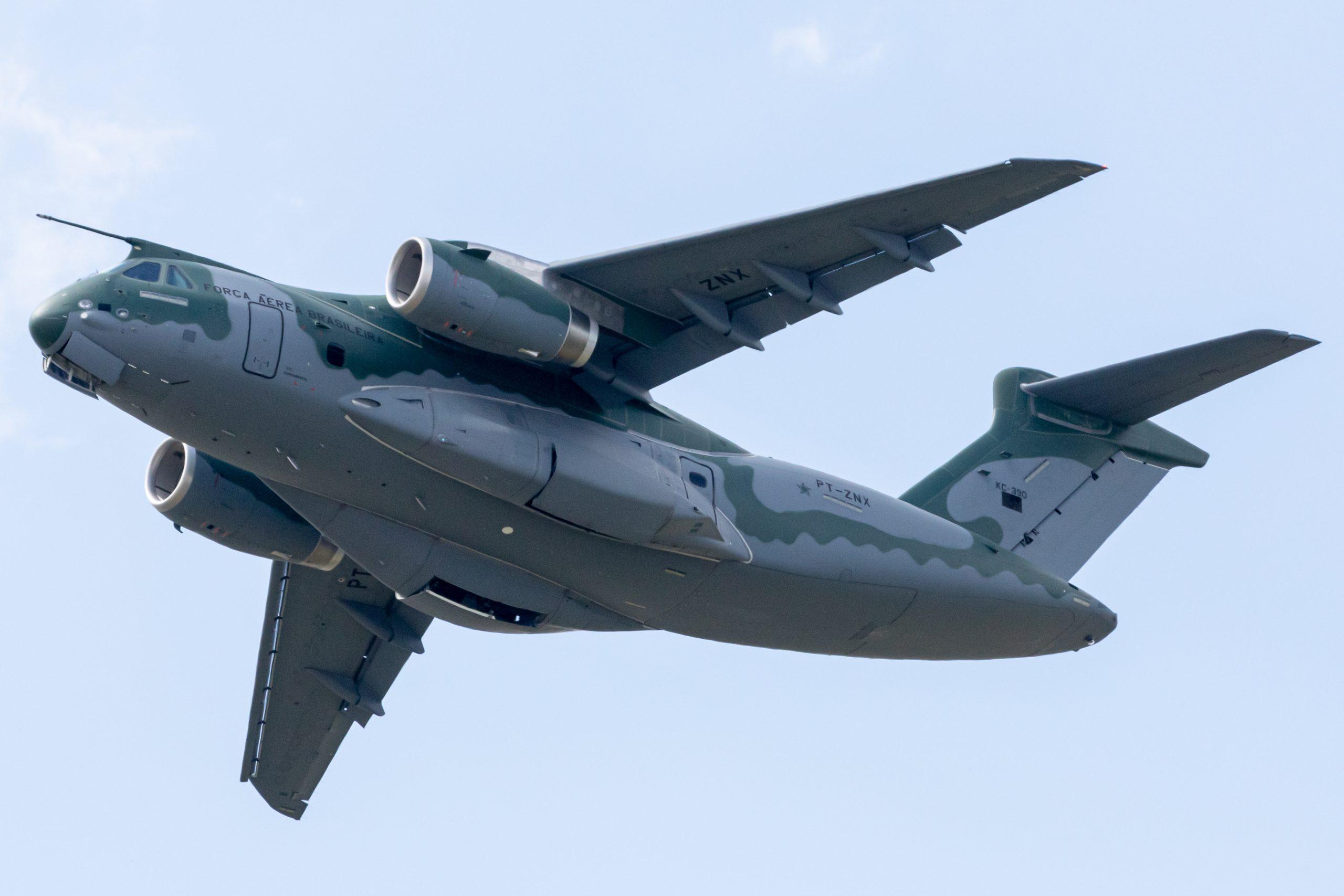 Brazil To Cut KC-390 Millennium Airlifter Order