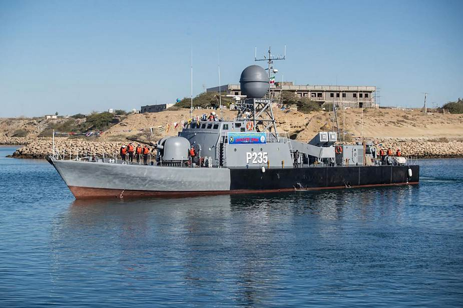 Iranian Navy Acquired Two New Frigates