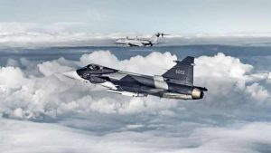 Swedish Government Pushes Gripen Offer to Finland
