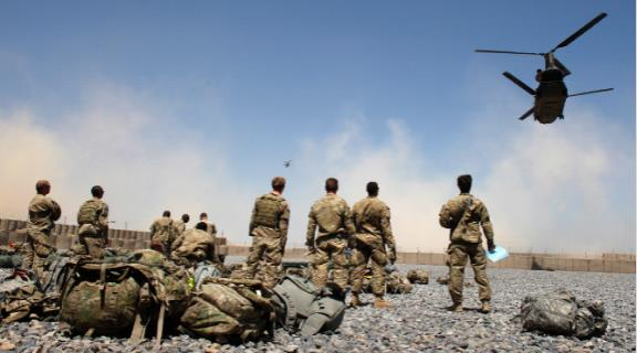 Train Afghan Forces