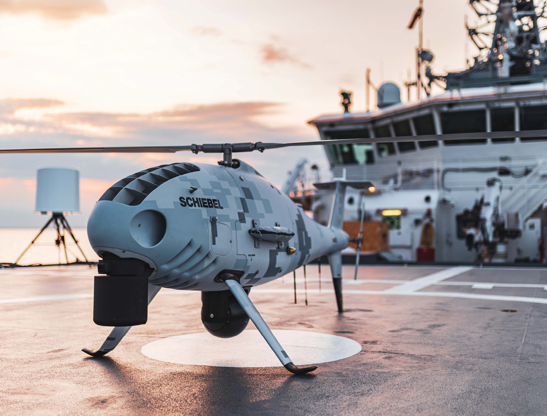 U.S. Navy Looks at Autonomous Sensor Drones