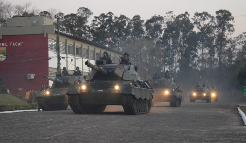 Modernize Leopard 1A5BR MBTs